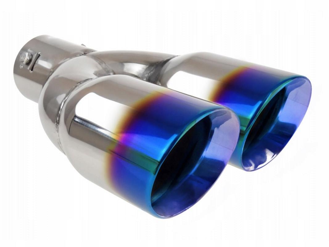 наконечник глушителя выдохе сталь сталь двойная
