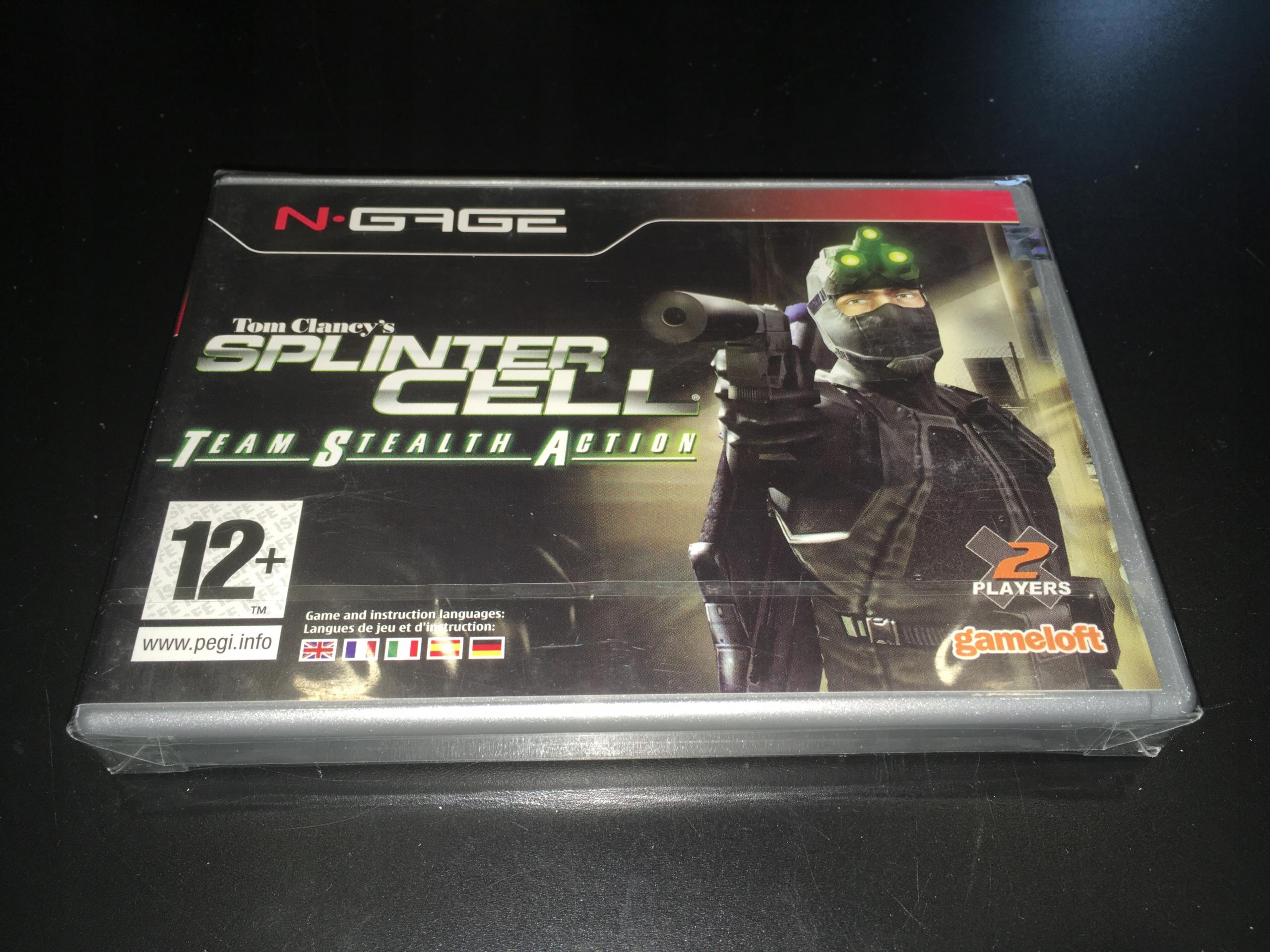 Splinter Cell Tím Stealth Akcia / Nokia N-Gage