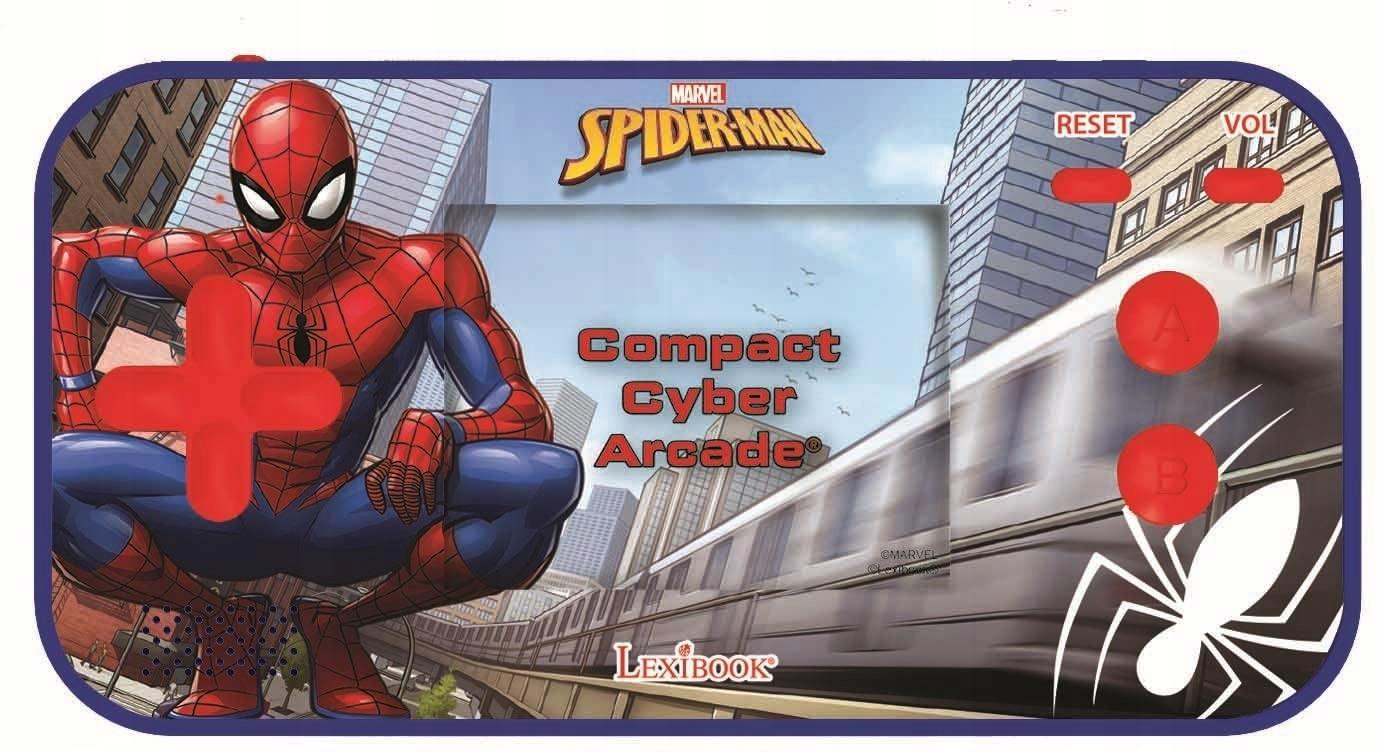 Ručná konzola SpiderMan pre deti 150 hier