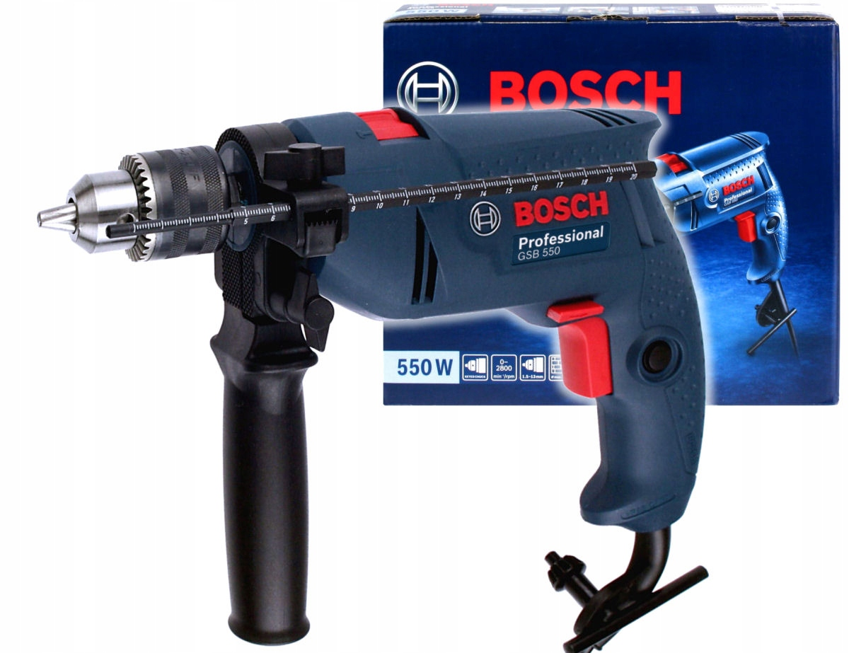 ДРЕЛЬ ударная 550W GSB Одна тысяча триста Bosch