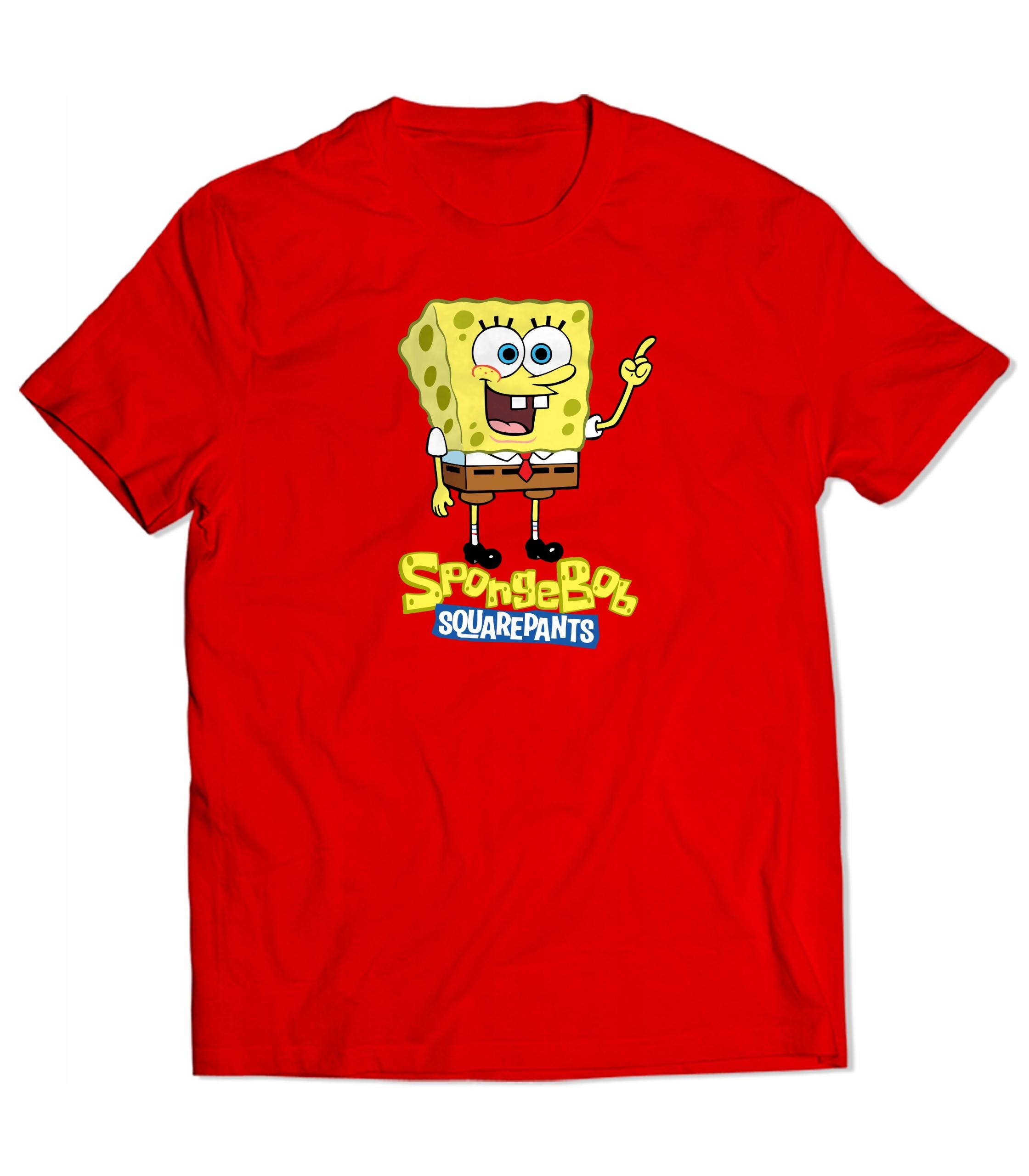 T-shirt Spongebob Prezent Koszulka Męska L
