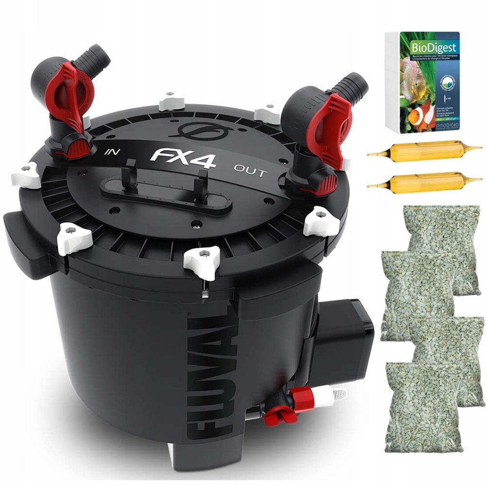 FLUVAL FX4 Внешний фильтр до 1700 л / ч БЕСПЛАТНО