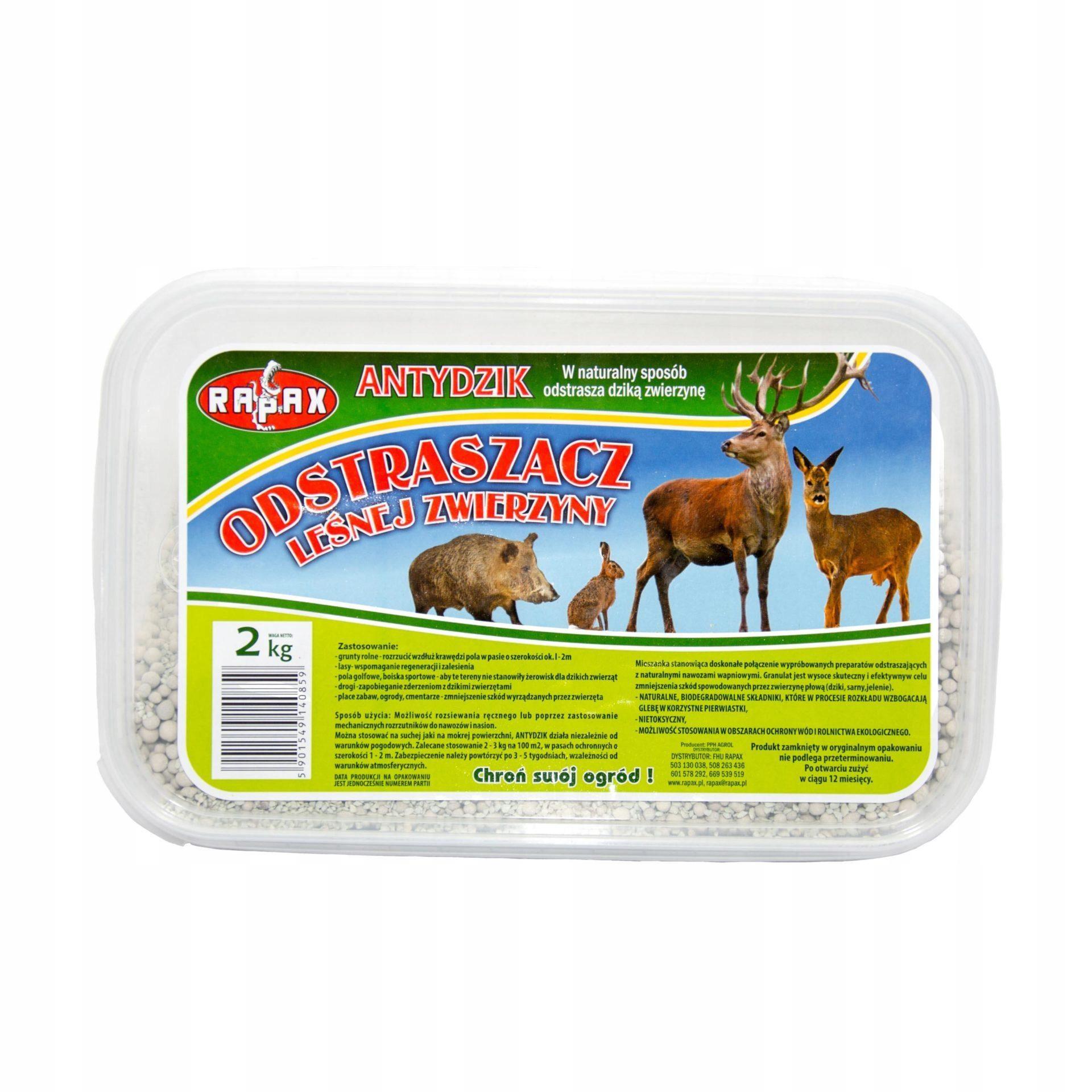 RAPAX-Odstraszacz leśnej zwierzyny ANTYDZIK 2kg