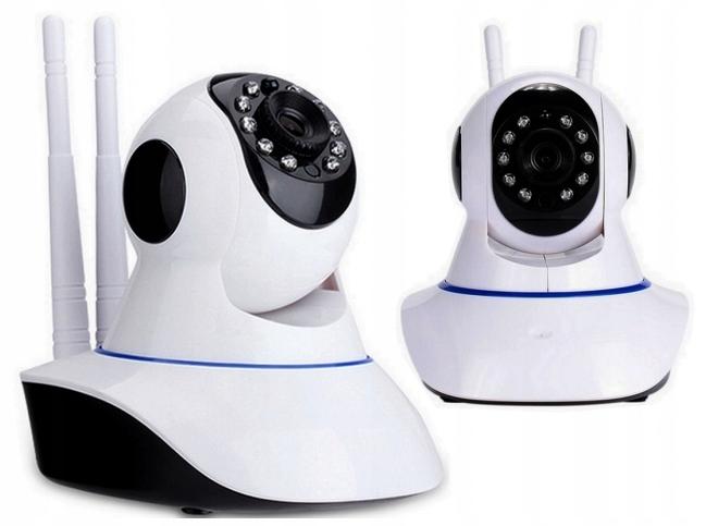 Kamera Wifi Niania Ip P2P Hd Monitoring Wireless