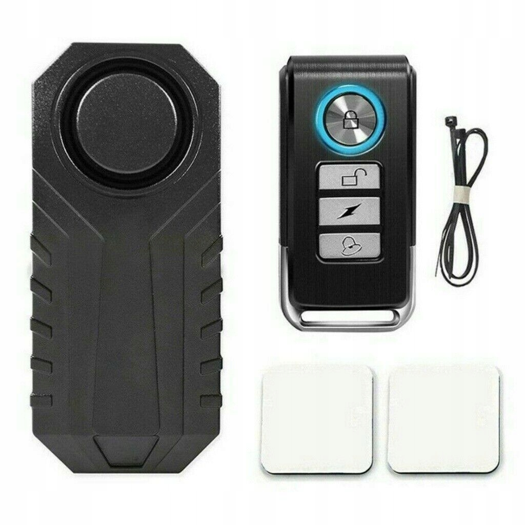 Bezprzewodowy motocyklowy alarm antykradzieżowy