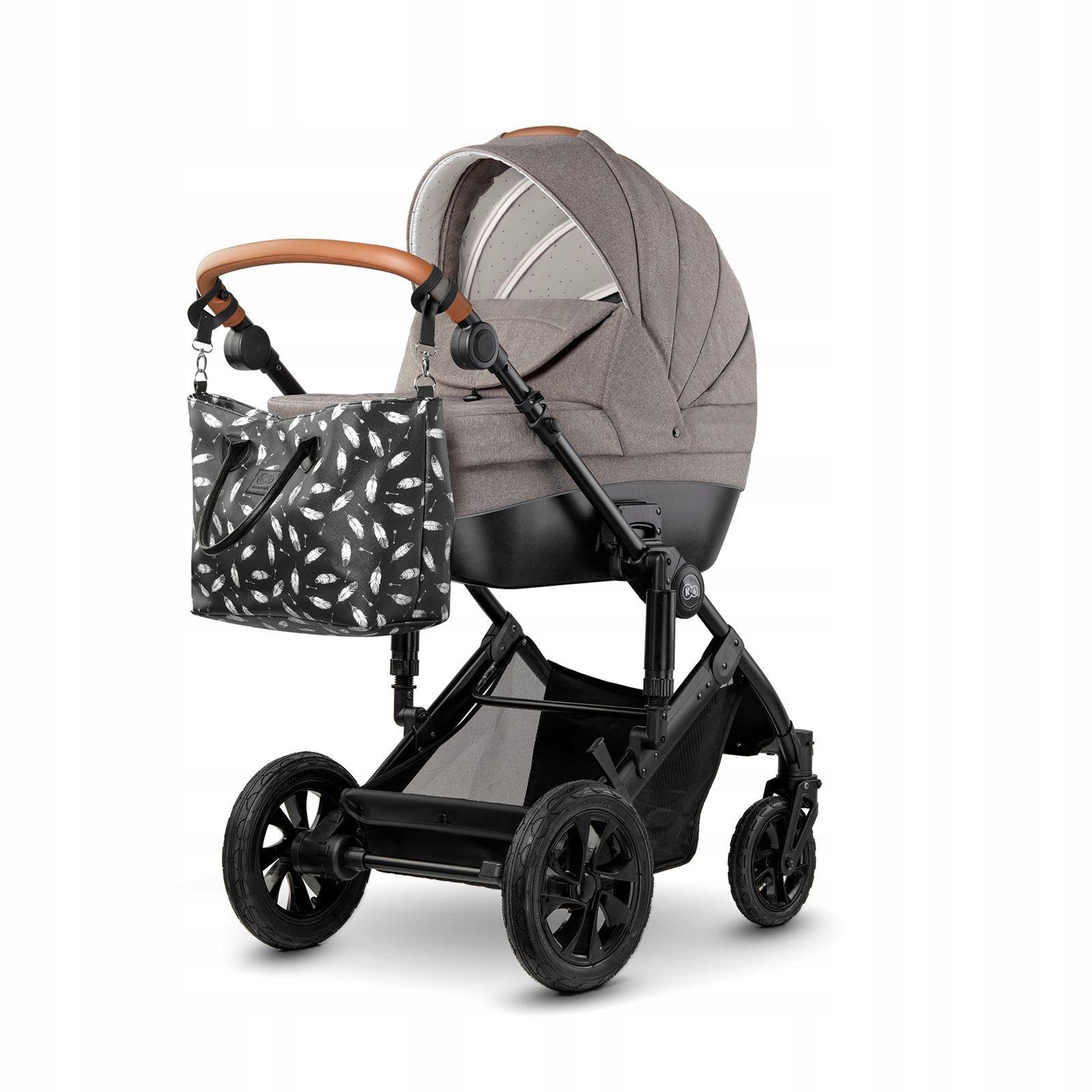 Wózek dzieciecy KINDERKRAFT PRIME 2w1 + TORBA Marka Kinderkraft