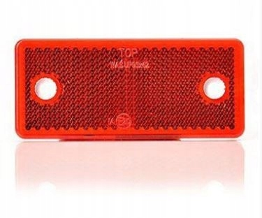 отблеск красный прямоугольный 42x96 z otowrami