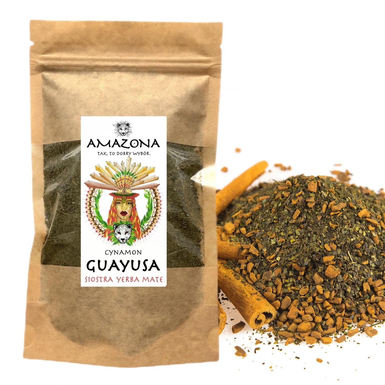 ILEX GUAYUSA Zestaw Smaków 6 x 250gram AMAZONA Produkt nie zawiera antyzbrylaczy barwników cholesterolu cukru drożdży glutenu GMO jajek konserwantów laktozy nabiału oleju palmowego orzechów pestek pszenicy soi tłuszczy trans (utwardzanych)