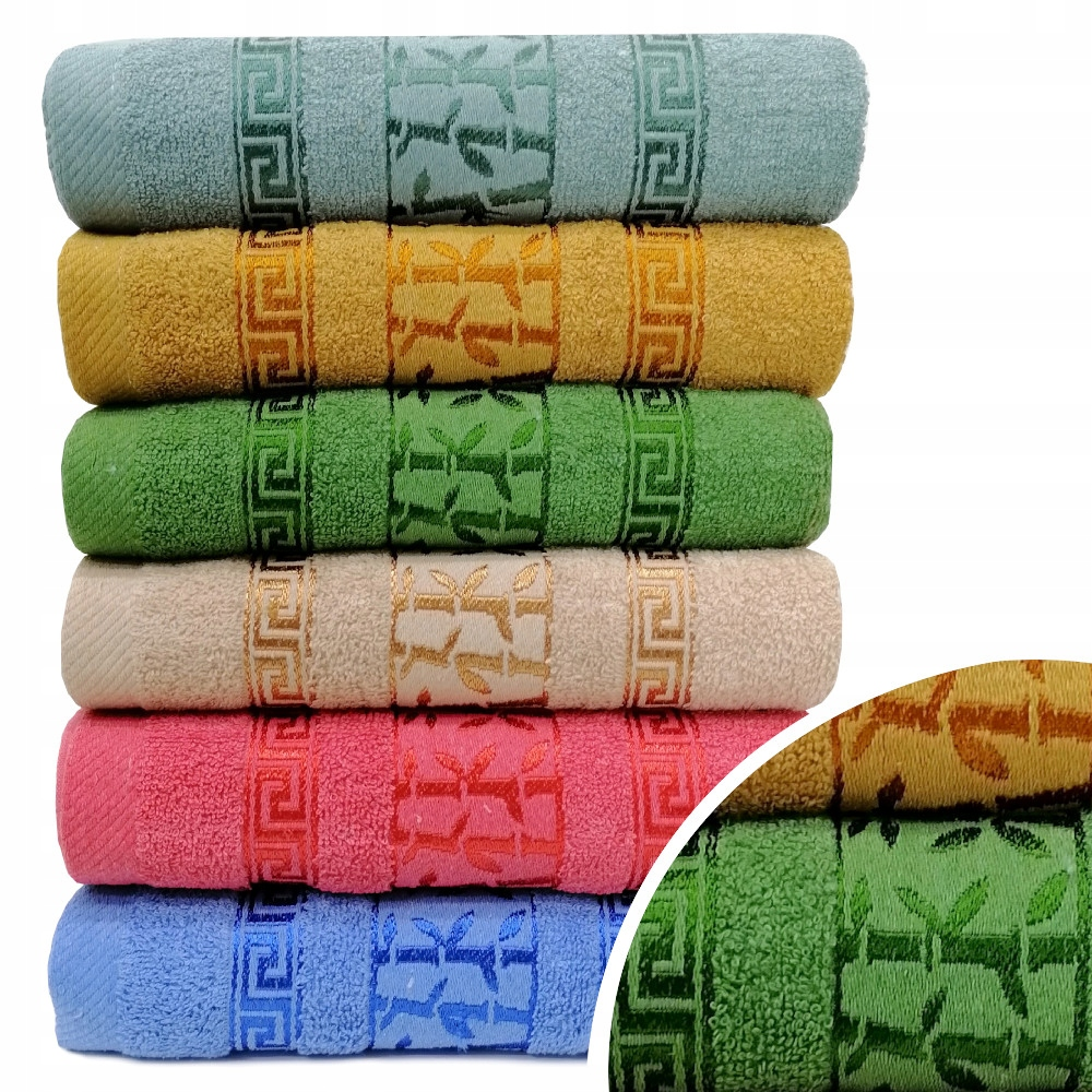 SET OF TOWELS FROTE 6x 50x100 THICK TOWELS