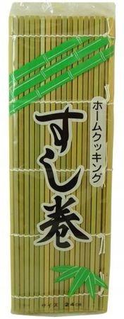 Коврик для суши профессиональный бамбуковый 24x24см
