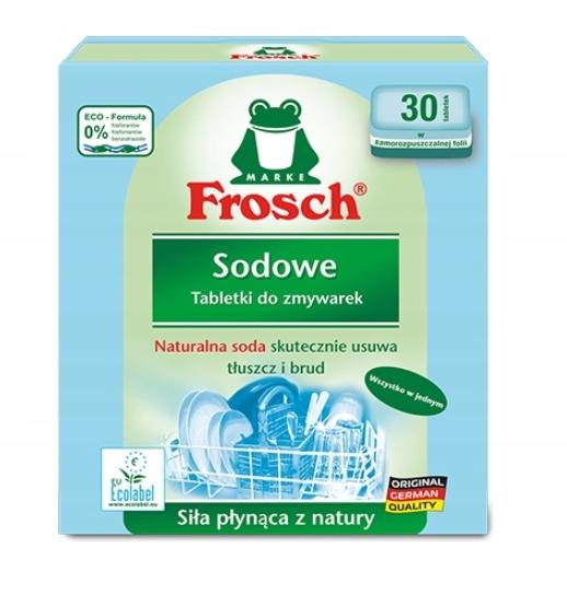 FROSCH ТАБЛЕТКИ для посудомоечных МАШИН 30 ШТ био