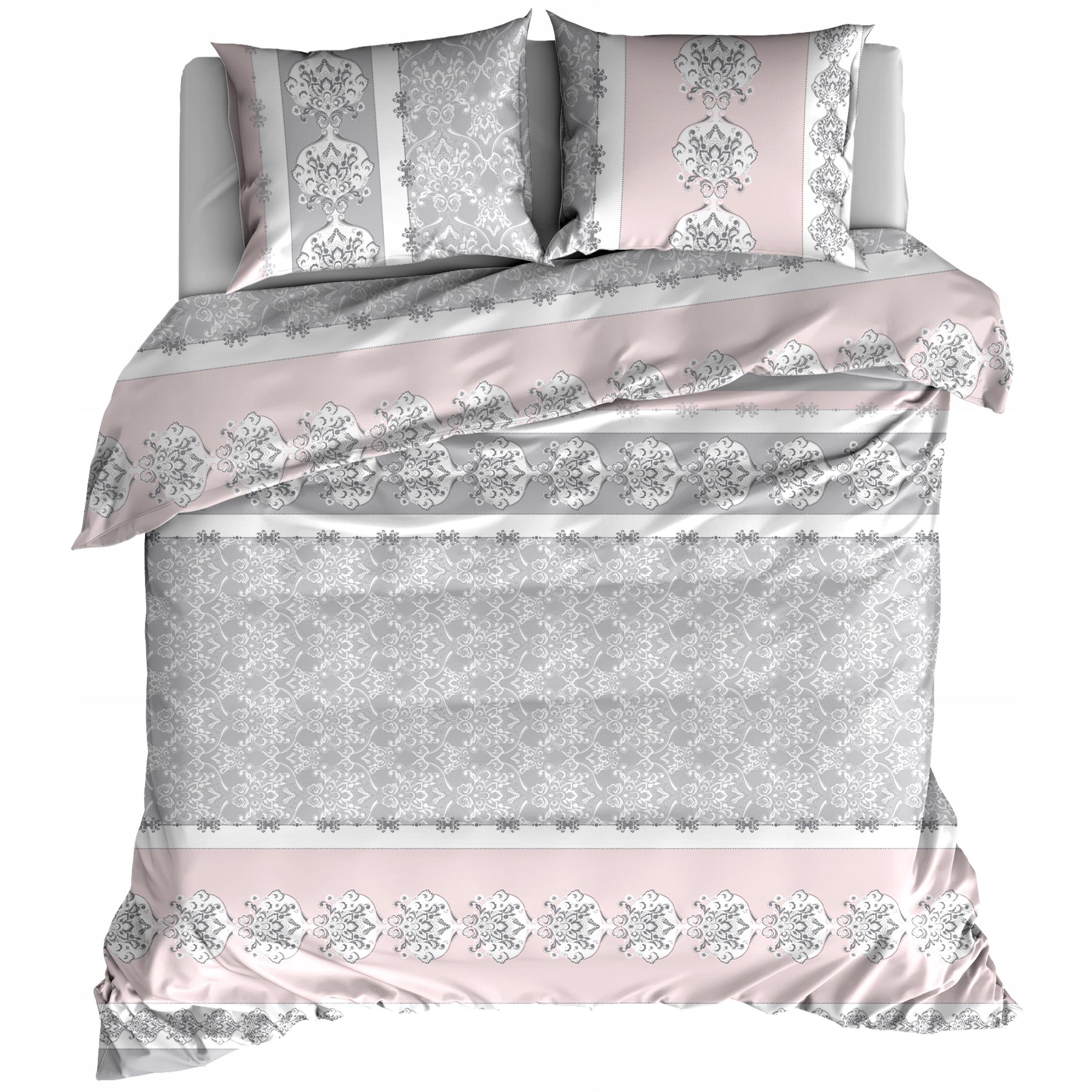 Flanelová posteľná súprava 220x200 Pink Retro