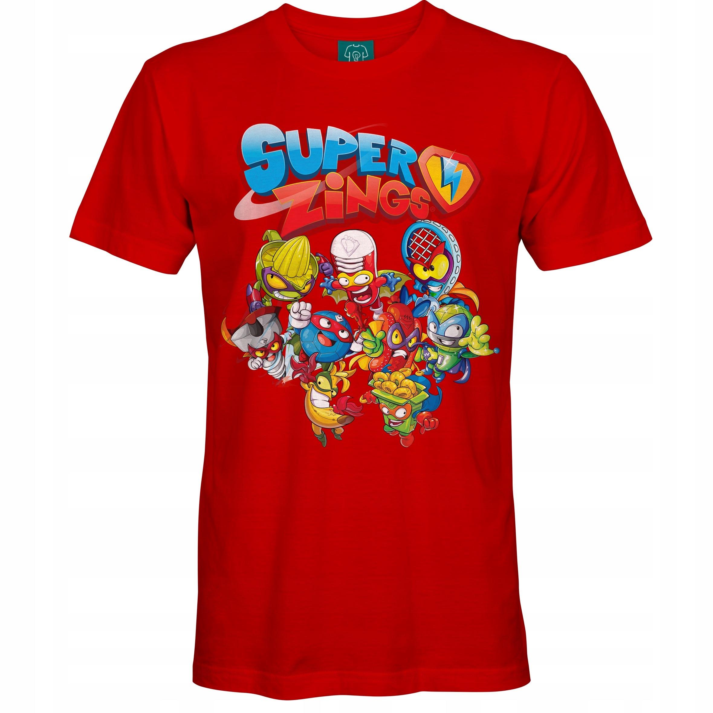 Detské tričko Super Zings [132] 7-8 rokov