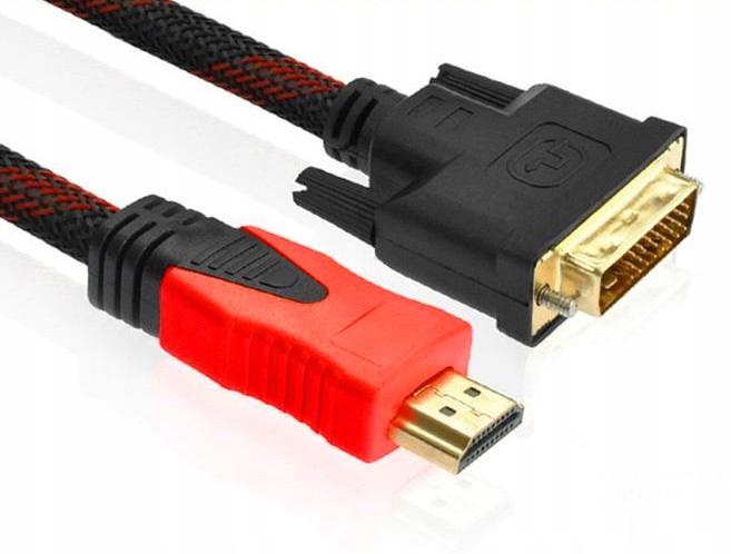 = HDMI DVI 3M DVI-D Full HD 24 + 1 adaptér