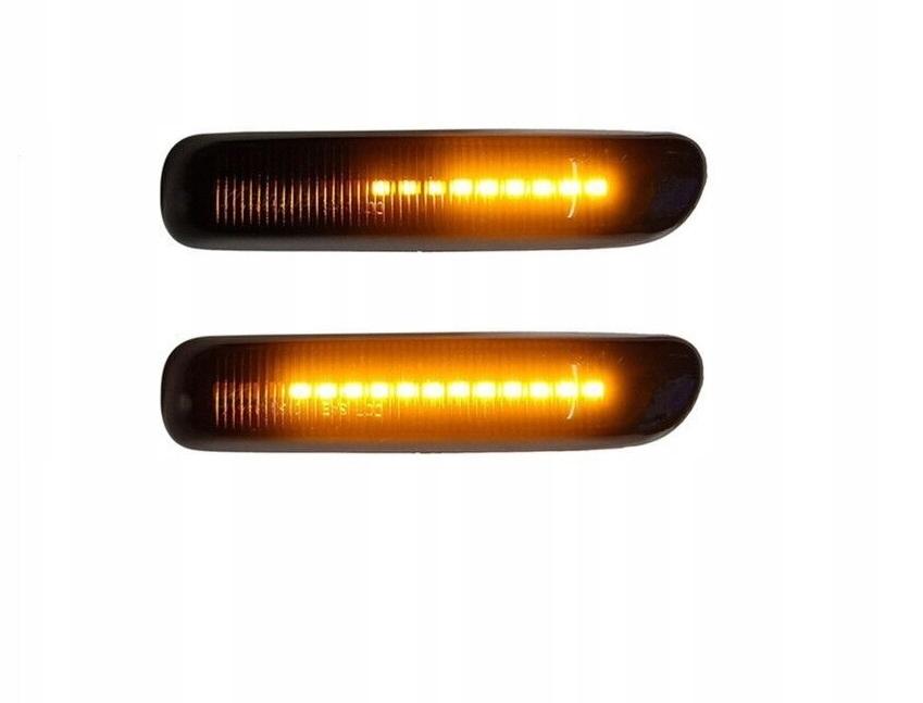 динамические led фонарь указателя поворота bmw 3 e46 1997-2001