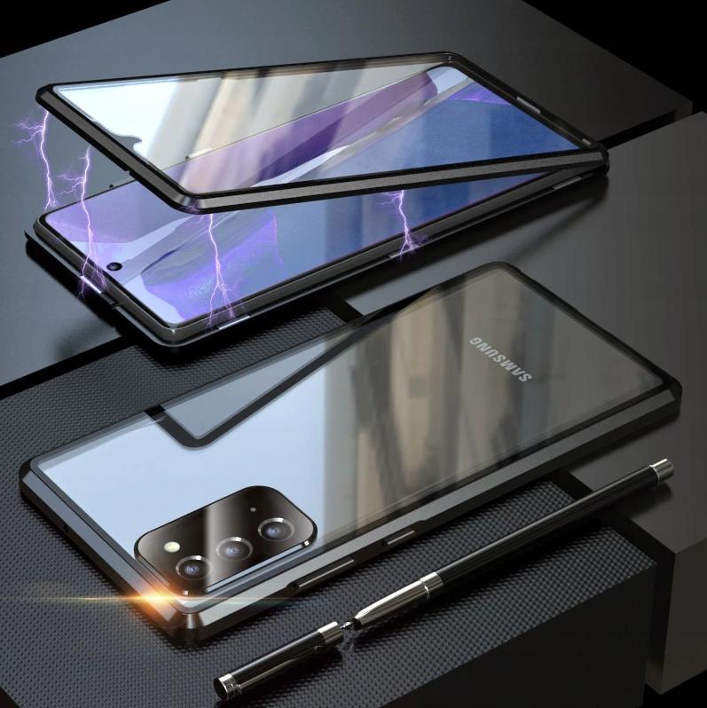Etui Magnetyczne 360° do Samsung Galaxy A32 4G Typ ramka (bumper)