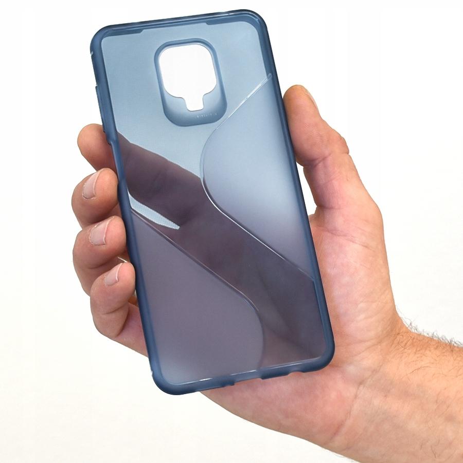 Etui do Xiaomi Redmi Note 9Pro 9S S-Case + Szkło Dedykowany model REDMI NOTE 9 PRO / NOTE 9S