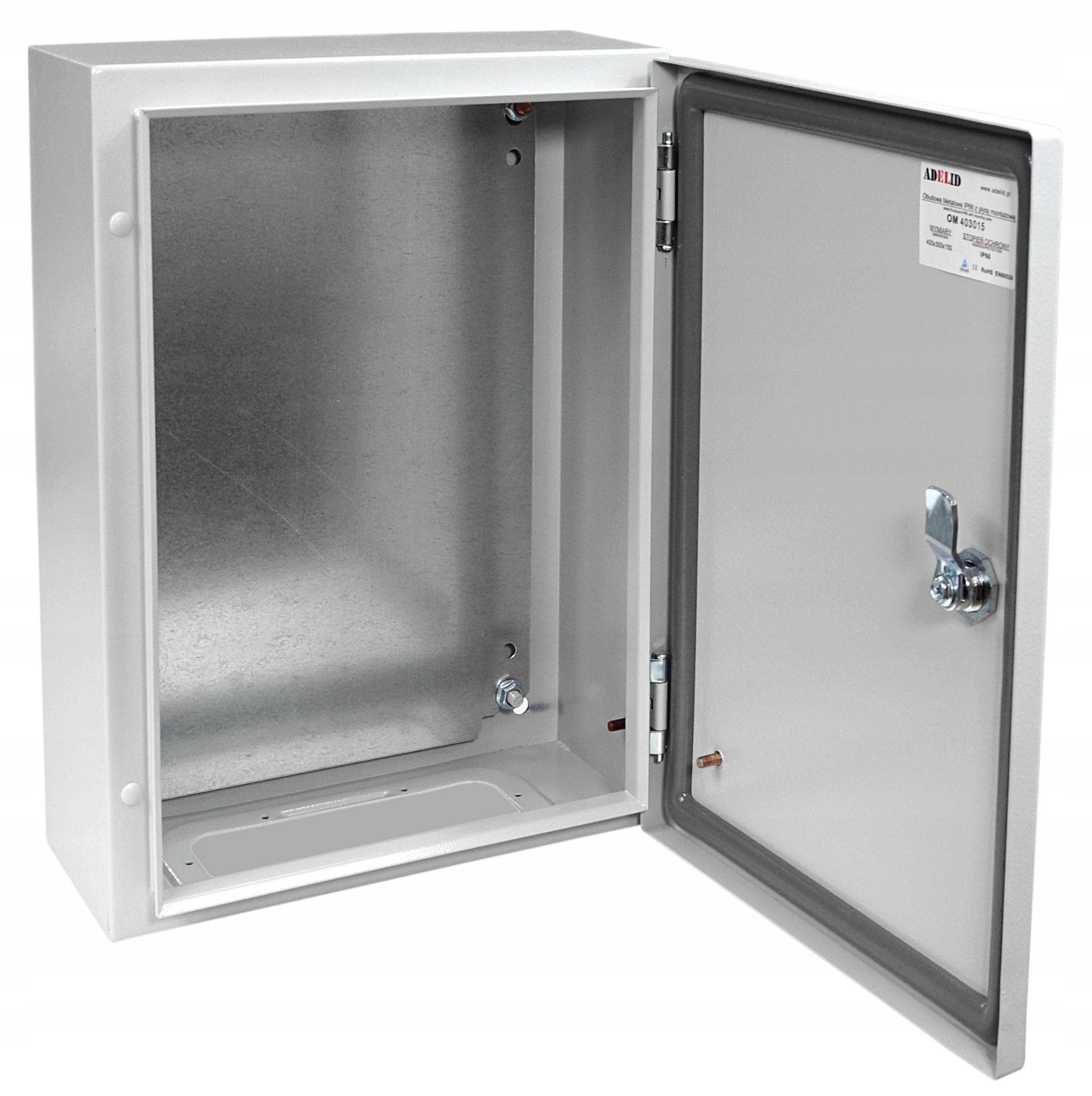 коробка электрическая Пс Металлическая 40x30x20
