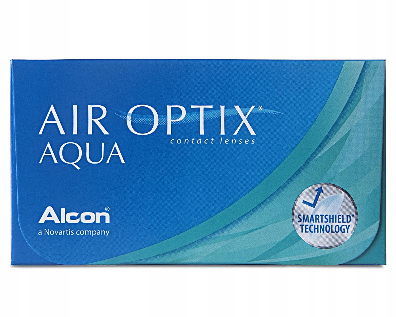 Soczewki Air Optix Aqua 6 sztuk
