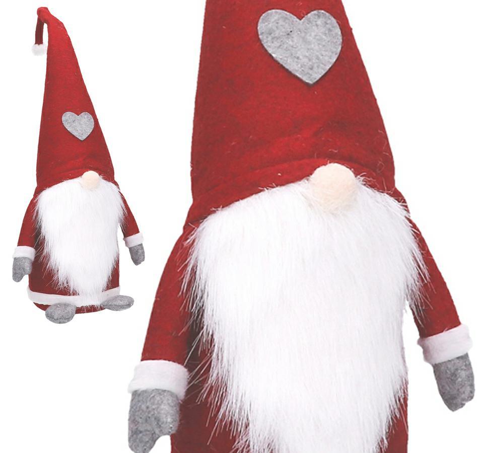 Leprechaun Gnome VEĽKÝ Santa DARČEK NA VIANOCE