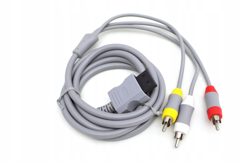 AV audio-video kábel pre Nintendo Wii 3 x kábel