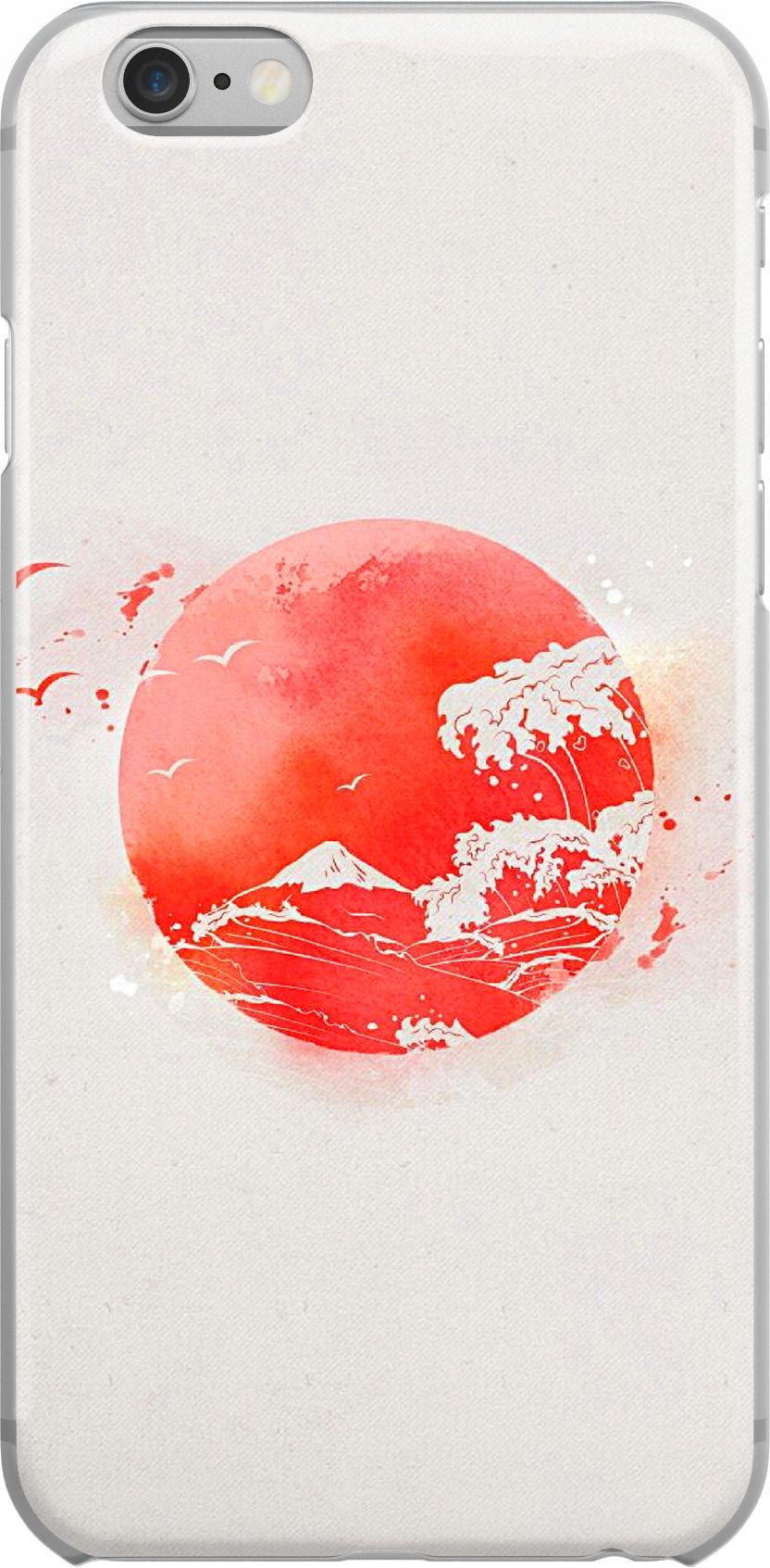Etui Wzory Japan Huawei Y6P