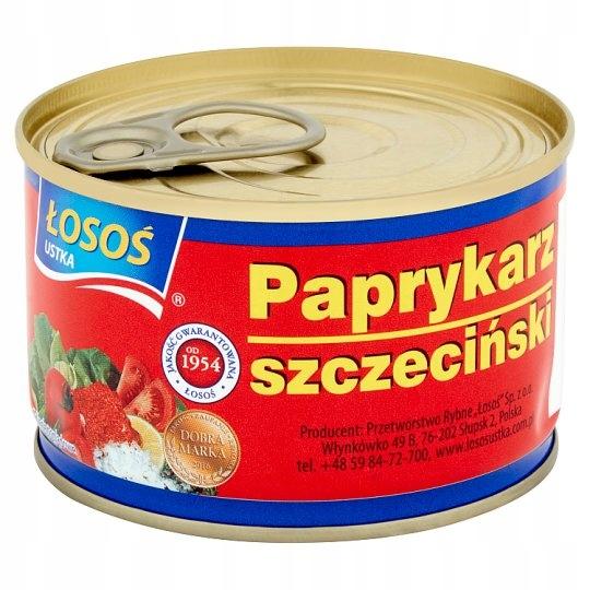 [ŚD] Paprykarz Szczeciński ŁOSOŚ Puszka 170g