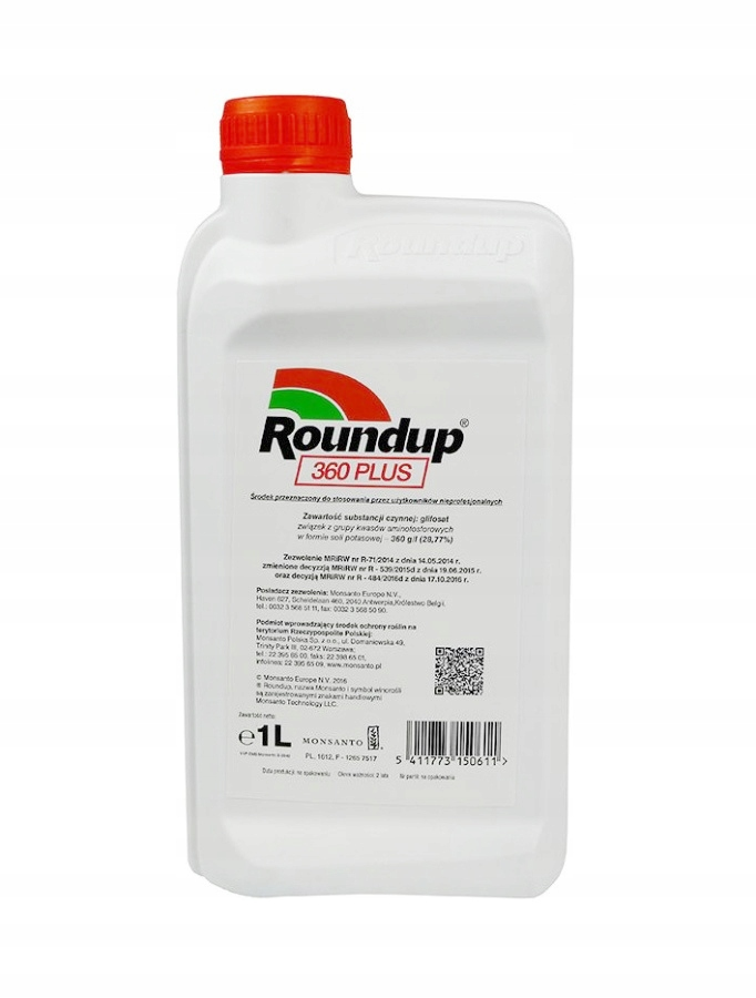 Roundup 360 PLUS 1l randap perz chwasty Monsanto