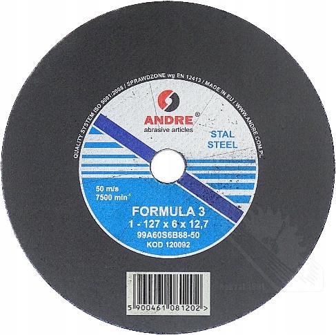 Subbble 127x6x12.7 Pre píly brúsneho pásma