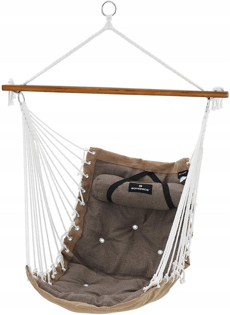 Подвесное кресло-гамак с подушками-качелями