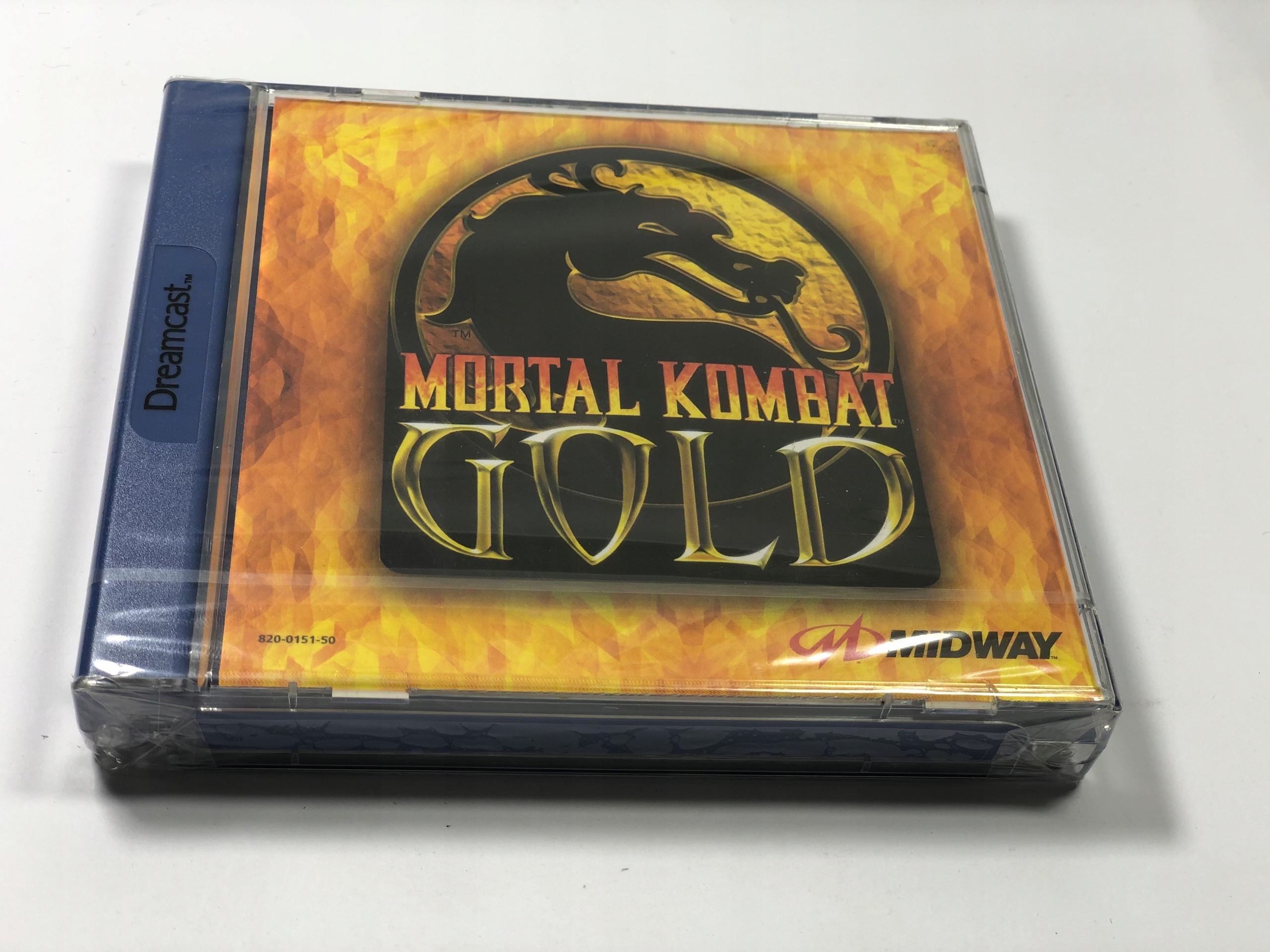 Mortal Kombat Gold NOVINKA Sega Dreamcast FILM