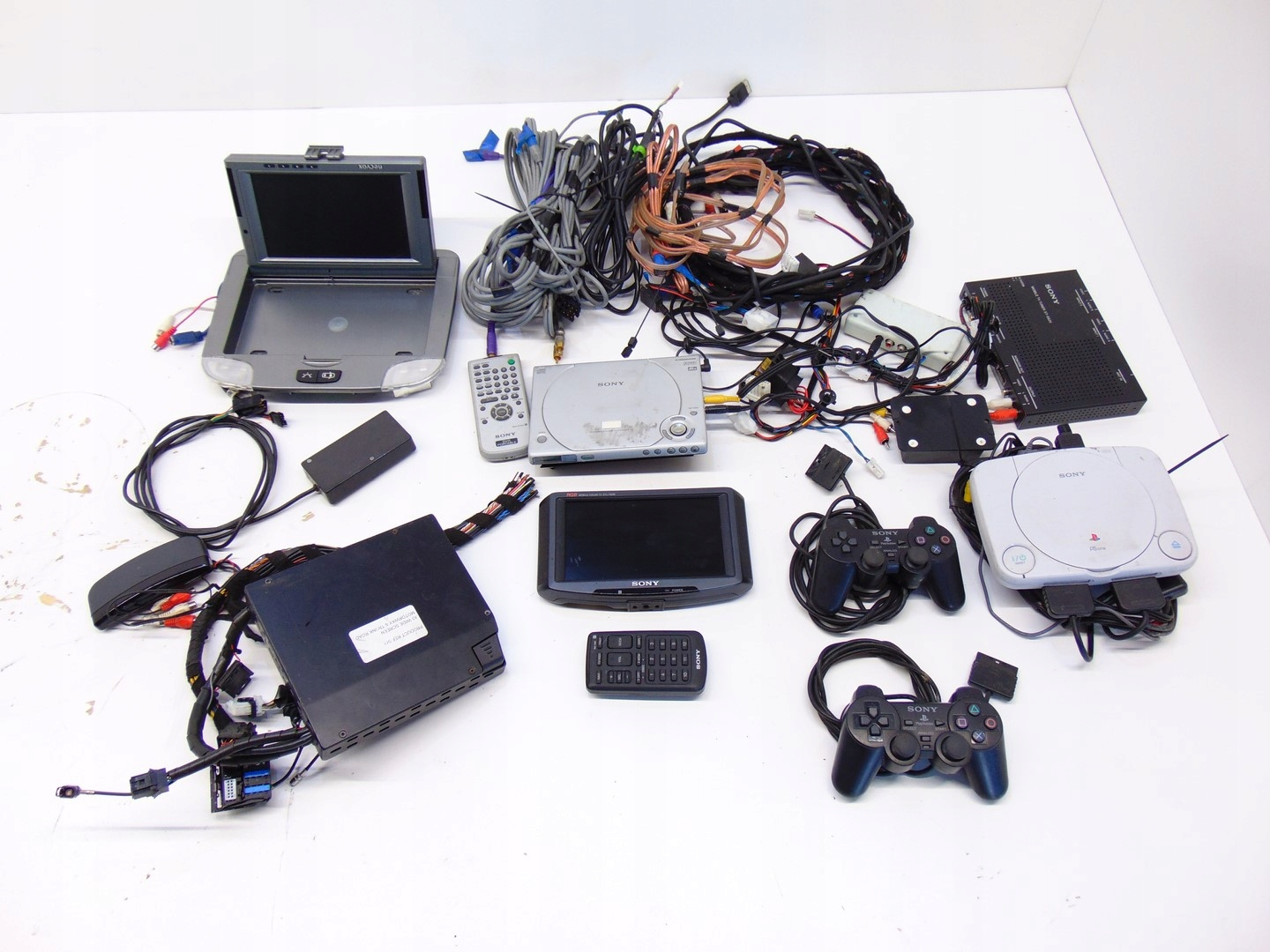 Sony Playstation 2 Console Bunch of Monitors Tuner
