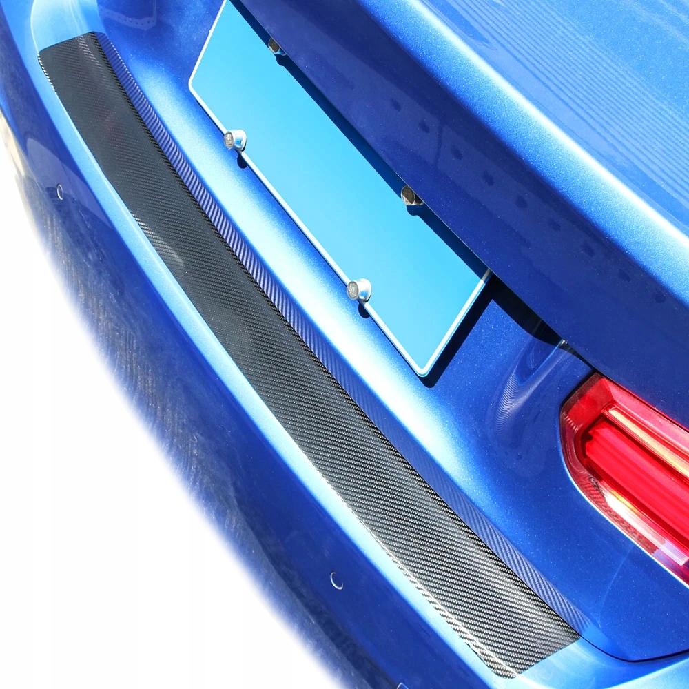 Наклейка folia захисний на бампер carbon 90x8,8cm - фото 9