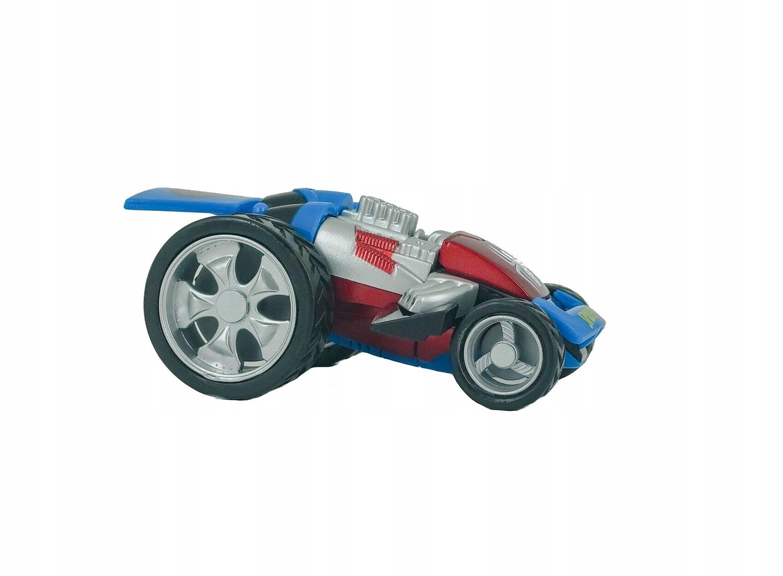 SPIDERMAN TRANSFORMUJĄCE AUTO MARVEL AVENGERS BLUE EAN 673534126012