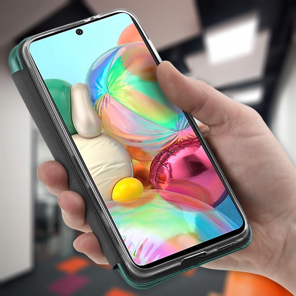 Etui do Samsung Galaxy A52 5G Skórzane Case +Szkło Producent Kraina GSM