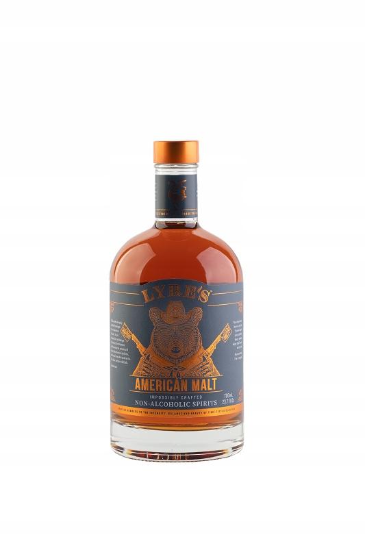LYRE'S AMERICAN MALT - безалкогольный виски / бурбон