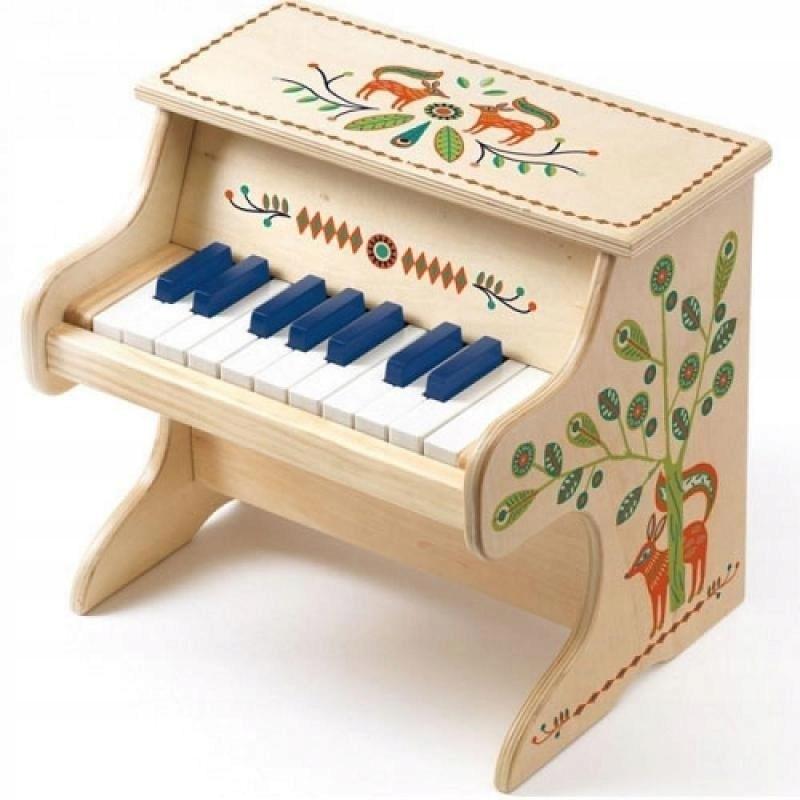 18 kláves Elektronické piano Djeco