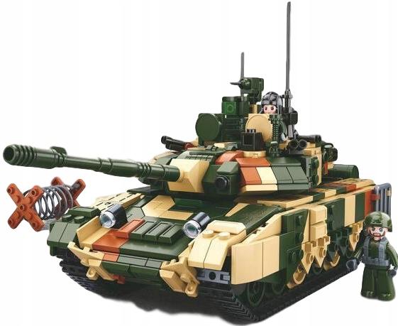 SLUBANSKÉ TEHLY VOJENSKÁ NÁDRŽ RUSKÁ T-90 MS 758el