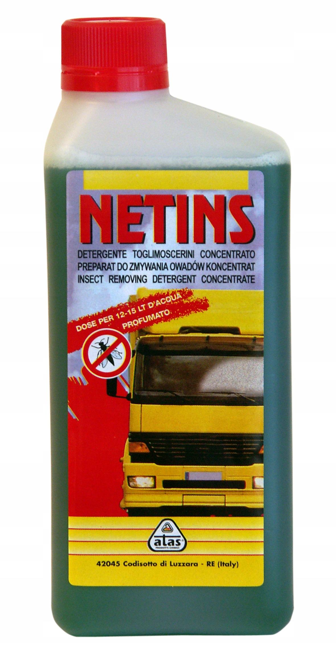 ATAS NETINS Препарат для удаления насекомых 500 мл