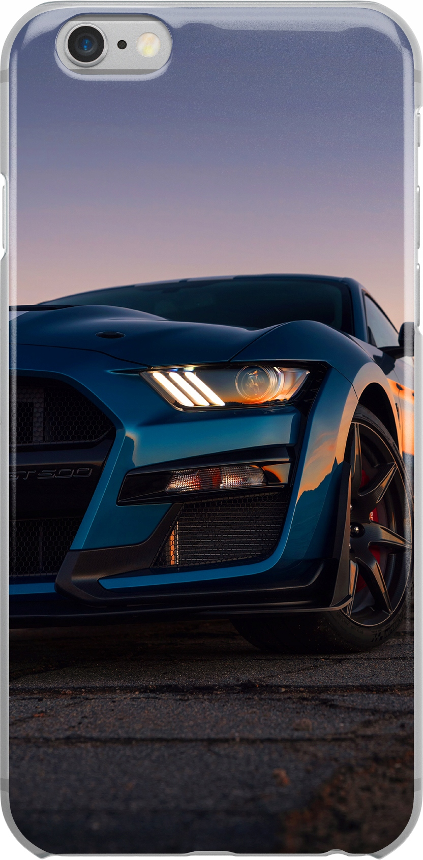 Etui Wzory Mustang Huawei Y8P