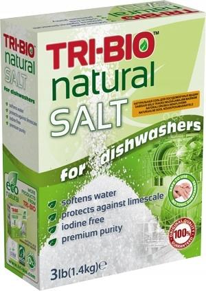 TRI BIO NATURAL Соль для экологической посудомоечной машины 1,4k