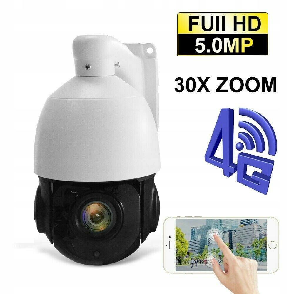 Kamera 5Mpx SIM GSM 4G LTE WIFI solarna z panelem