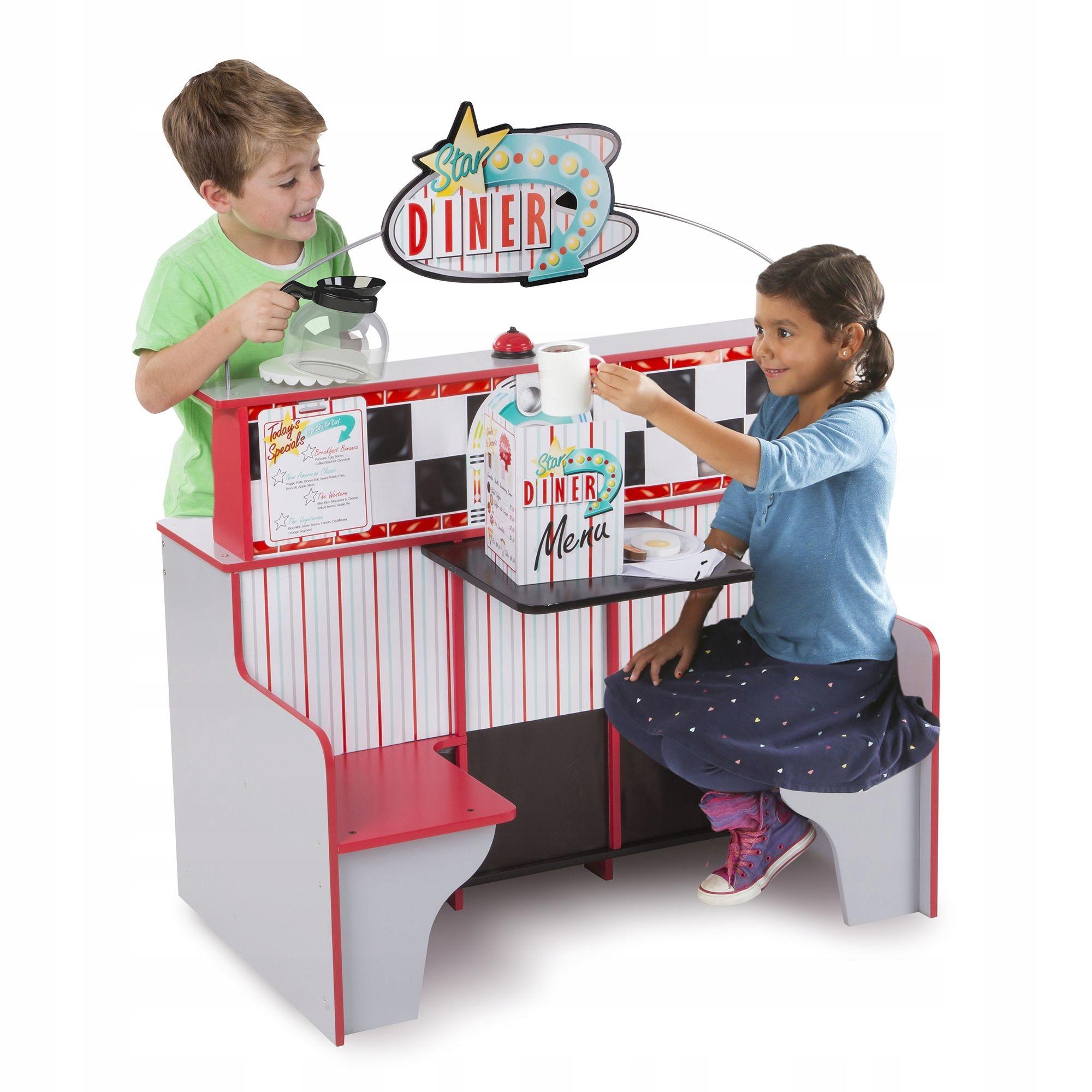 Hračky pre deti Drevená kuchynka a reštaurácia