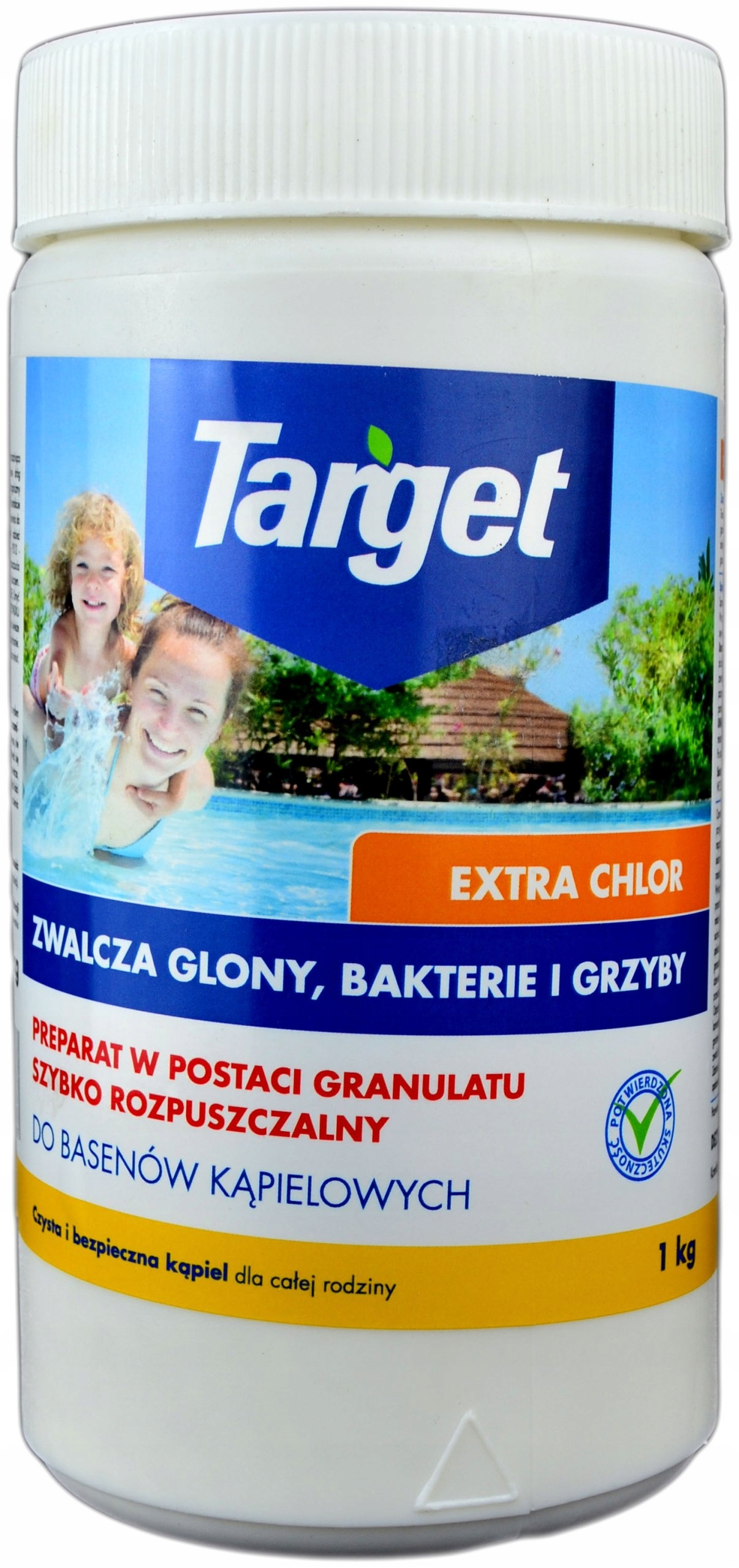 Target Extra Chlorine в гранулах, 1 кг порошка для бассейнов