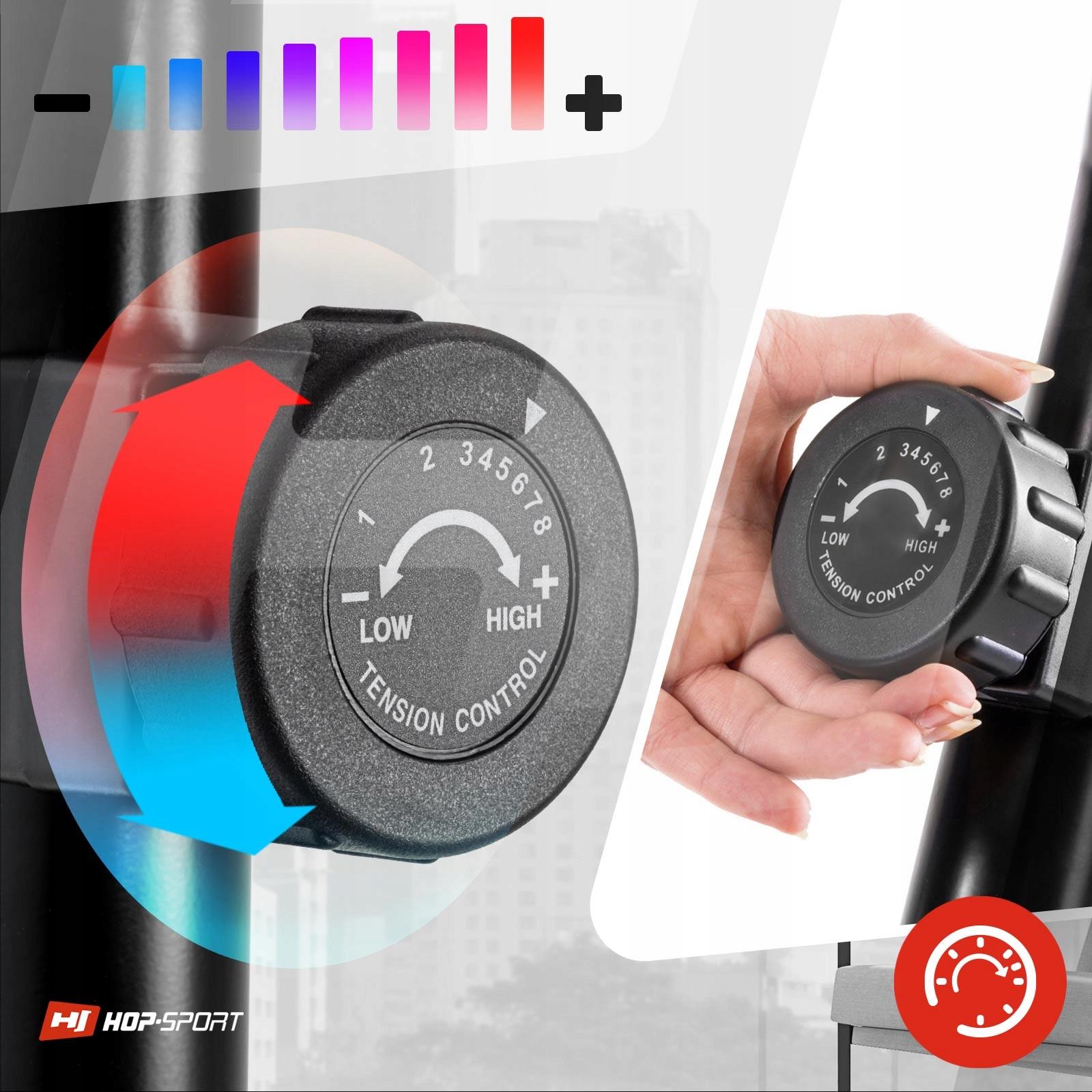 Rower stacjonarny magnetyczny treningowy regulacja Maksymalna waga użytkownika 120 kg