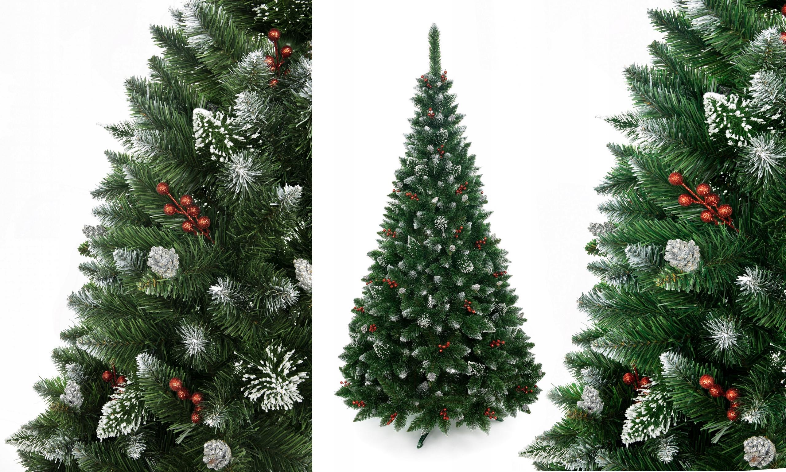 Vianočný stromček Diamond Pine s Holly 250 cm