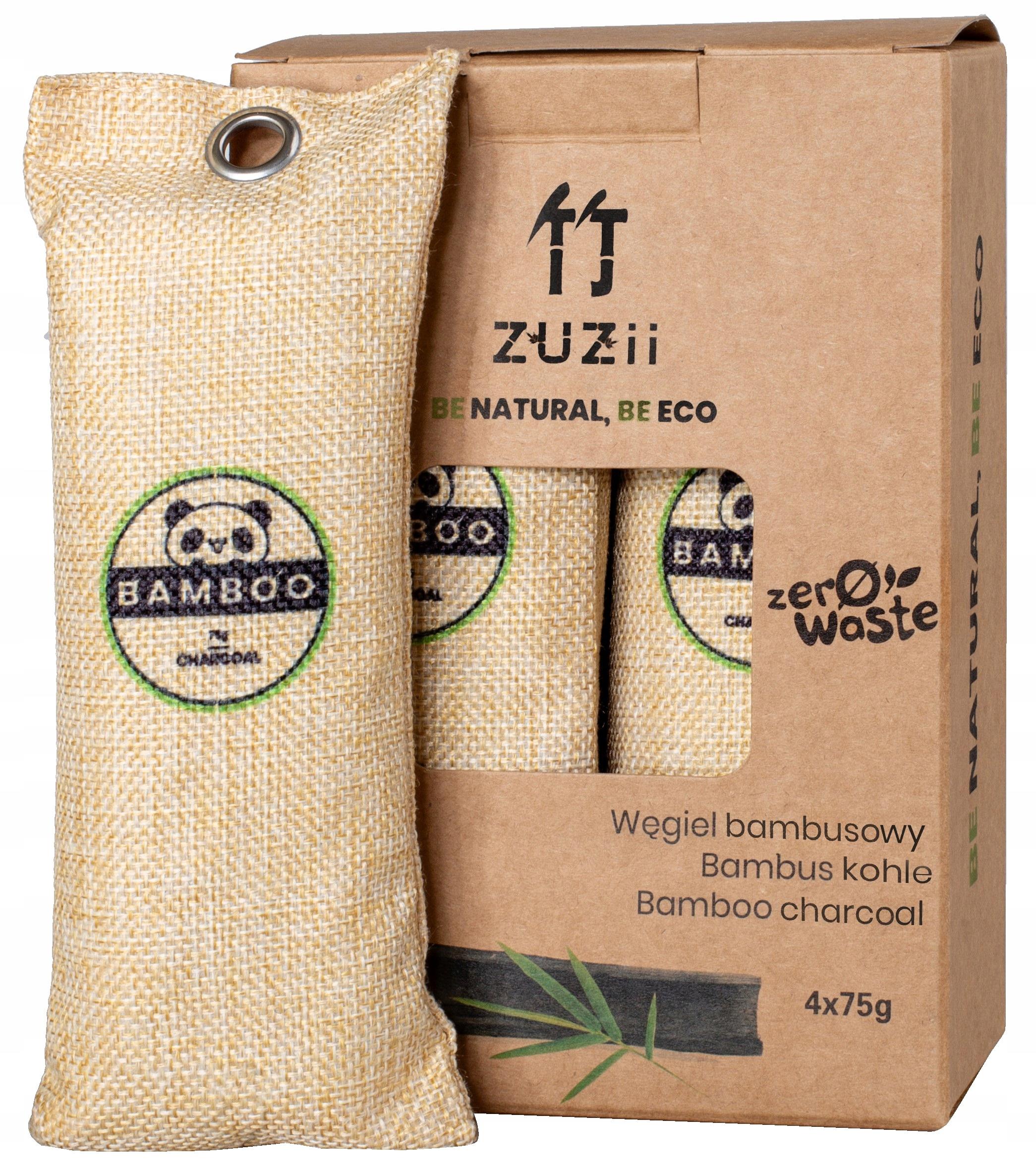 Осушитель воздуха на бамбуковом угле 4x75g ZUZII