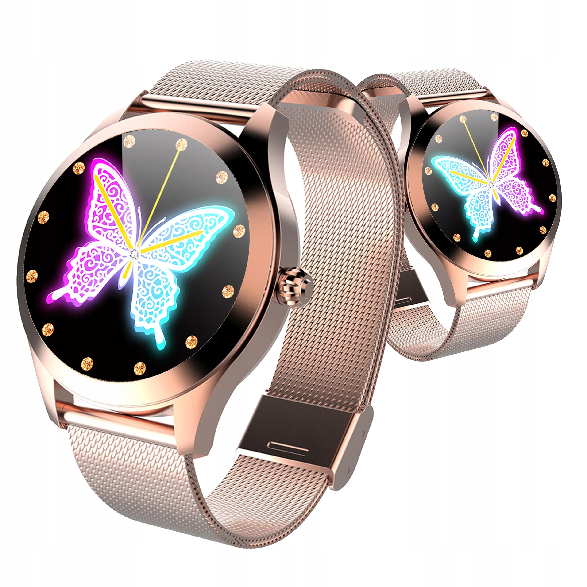 Женские умные часы KW10 OLED DESIGN шаги импульсный цикл