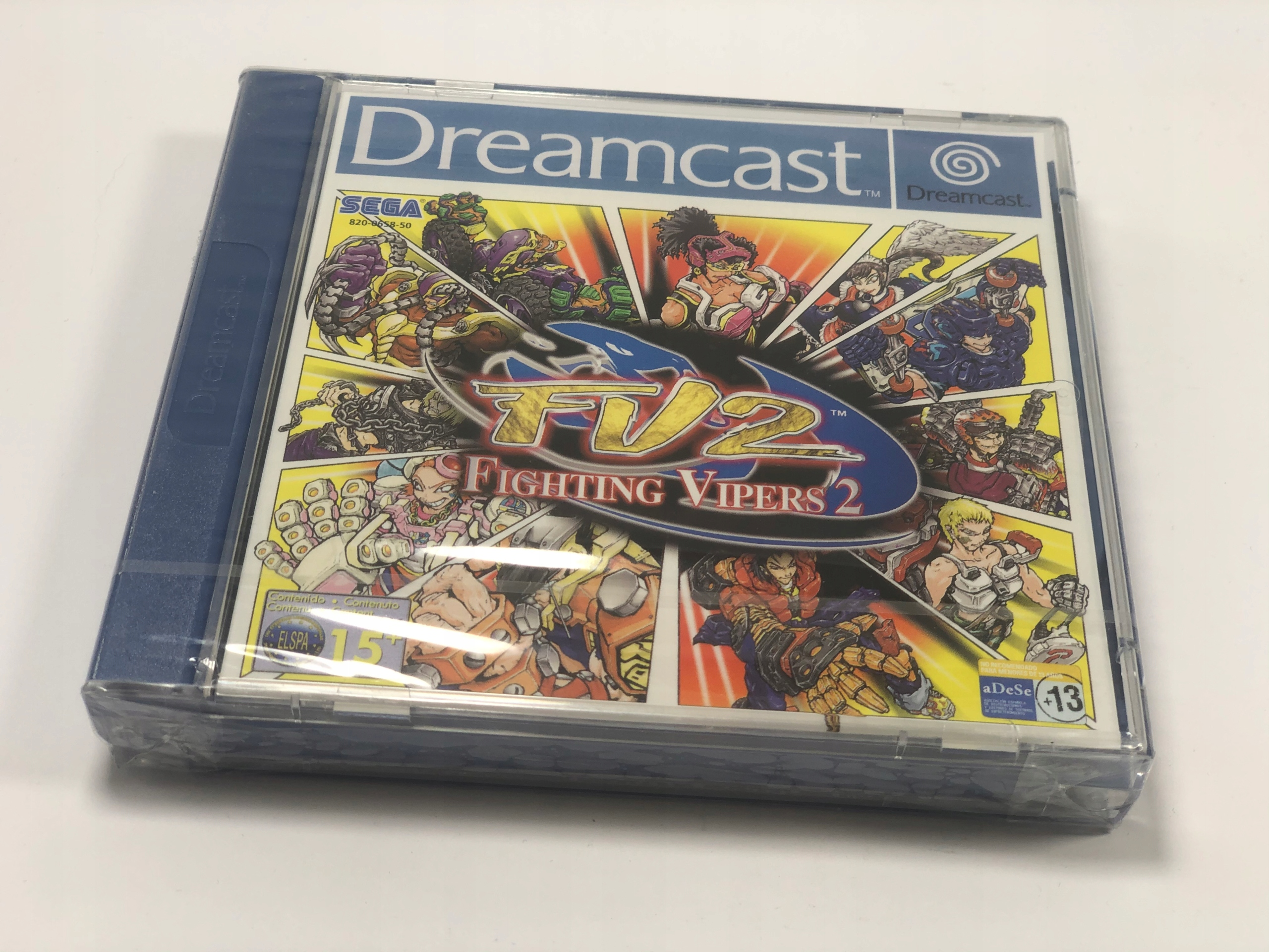 Fighting Vipers 2 Sega DreamCast FOIL
