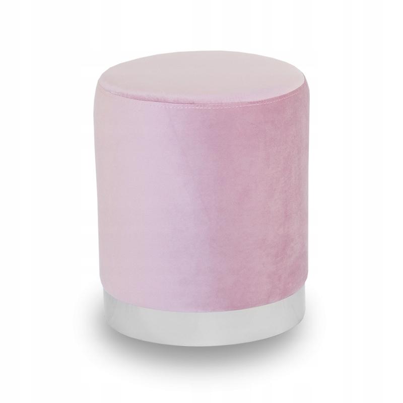 Пуф Glamour WELUR обитый UC3014 розовый
